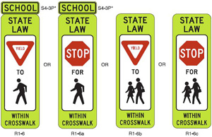Srts Guide Marking And Signing Crosswalks
