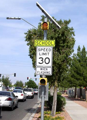 Srts Guide School Area Speed Limit And Signing